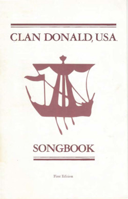 Clan Donald Songbook Cover